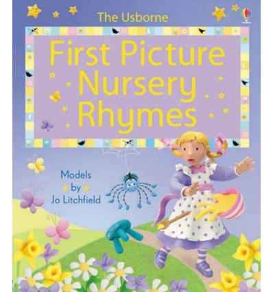 First Picture Nursery Rhymes (Usborne First Picture Books)