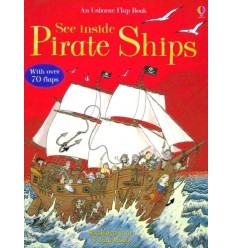 See Inside Pirate Ships (Usborne Flap Book)