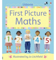 First Picture Maths (Usborne First Picture Books)