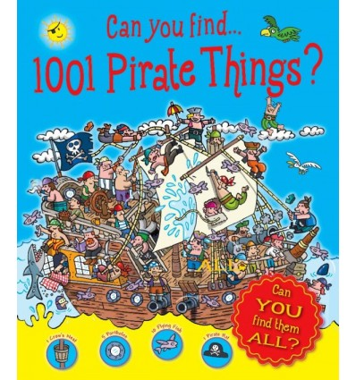 Can You Find 1001 Pirate Things?