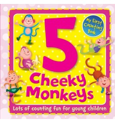 5 Cheeky Monkeys (My First Counting Book)