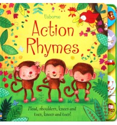 Action Rhymes (Usborne Tabbed Board Book)