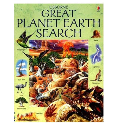Great Planet Earth Search (Usborne Great Searches)
