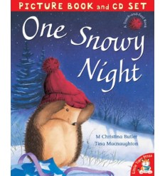 One Snowy Night (Book & CD)