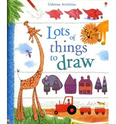 Usborne Book of Lots of Things to Draw (Usborne Art Ideas)
