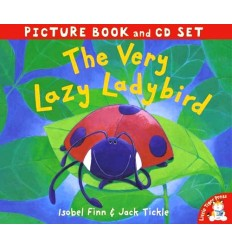 The Very Lazy Ladybird (Book & CD)