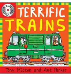 Terrific Trains (Book & CD)