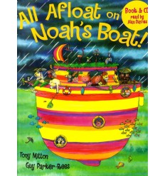 All Afloat on Noah's Boat! (Book & CD)
