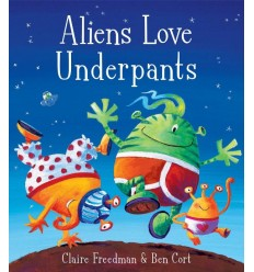Aliens Love Underpants (Book& CD)