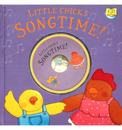 Little Chick's Songtime! (Book & CD)