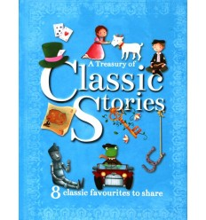 A Treasury Of Classic Stories - (8 Classic Favourites To Share)