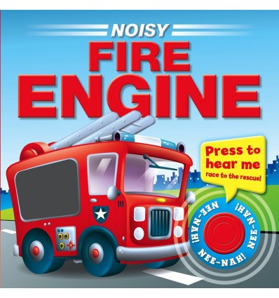 Noisy Fire Engine (Sound Button Board Book)