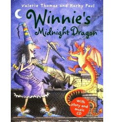 Winnie's Midnight Dragon (Book & CD)