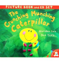 The Crunching, Munching Caterpillar (Book & CD)