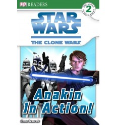 Star Wars Clone Wars Anakin in Action! (DK Readers Level 2)