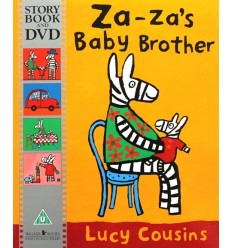 Za-Za's Baby Brother (Book & DVD)