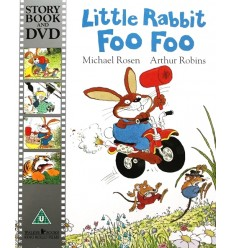 Little Rabbit Foo Foo (Book & DVD)