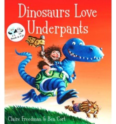 Dinosaurs Love Underpants (Book & CD)