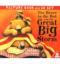 The Bears in the Bed and the Great Big Storm (Book & CD)