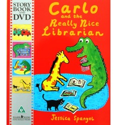 Carlo and the Really Nice Librarian (Book & DVD)