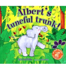 Albert's Tuneful Trunk! (Book & CD-ROM)