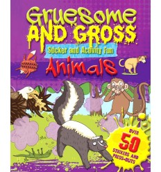 Gruesome and Gross Sticker and Activity Fun - Animals