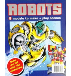 Robots: 8 Models to Make + Play Scenes