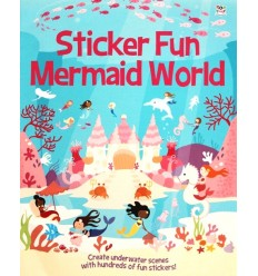 Sticker Fun Mermaid World