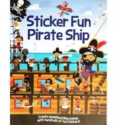 Sticker Fun Pirate Ship