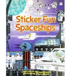 Sticker Fun Spaceships