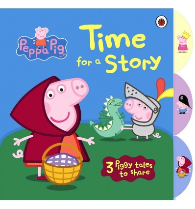 Peppa Pig: Time for a Story (Tabbed Board Book)