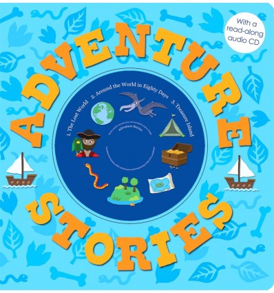 Adventure Stories (Read-along Book & CD)