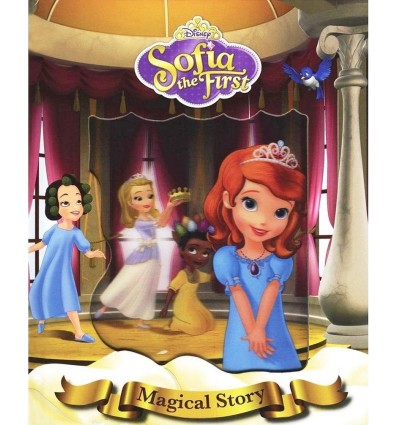 Disney Sofia the First Magical Story (With Lenticular Cover)