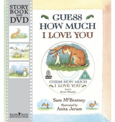 Guess how Much I Love You (Book & DVD)