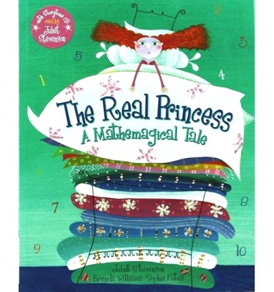 The Real Princess: A Mathemagical Tale (Book & CD)
