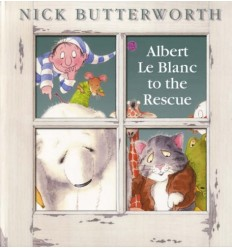 Albert Le Blanc to the Rescue (Book & CD)